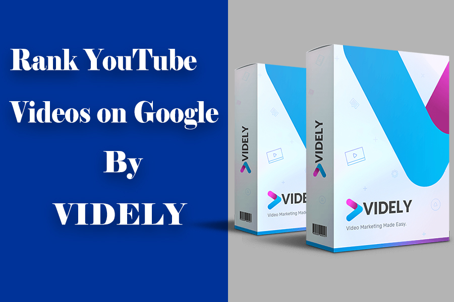Rank Youtube Video on First Page of Google in Minutes with Videly